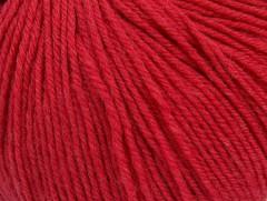 Superwash vlna - marshala červená