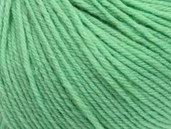 Superwash vlna - mátově zelená
