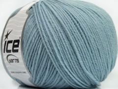 Superwash vlna - světle modrá