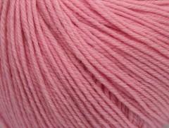 Superwash vlna - světle růžová