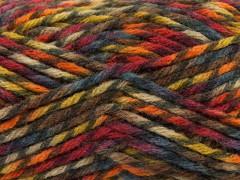 Thor - oranžovočervenohnědokhakityrkysová