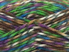 Thor - purpurovozelenotyrkysovohnědo odstíny