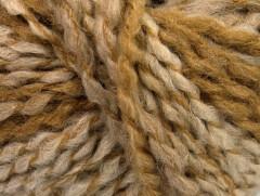 Tiger Alpaka - hnědobéžovokrémová