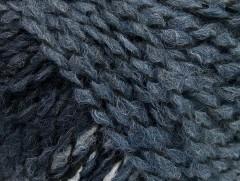 Tiger Alpaka - jeansověmodročerná