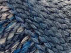 Tiger Alpaka - modropurpurovokrémová