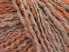 Tiger Alpaka - oranžovolososovokrémová