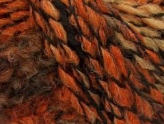 Tiger Alpaka - velbloudíčernooranžová