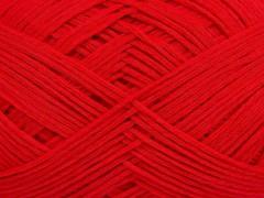 Tube bavlna fajn - červená