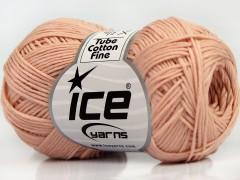 Tube bavlna fajn - pudrová růžová