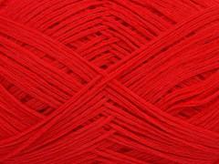 Tube bavlna fajn - světle červená