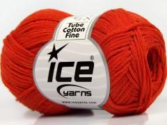 Tube bavlna fajn - tmavě oranžová