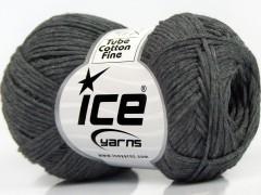 Tube bavlna fajn - tmavě šedá