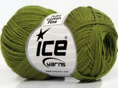 Tube bavlna fajn - zelená