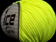 Tube softy - světlá neonově zelená