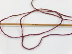 Viskóza metalická komfort - červenohnědostříbrná