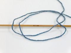 Viskóza metalická komfort - modrostříbrná