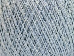 Viskóza metalická komfort - světle modrostříbrná