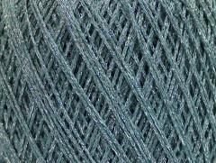 Viskóza metalická komfort - světle tyrkysovástříbrná