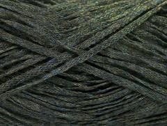 Viskóza ribbon šajn - khakimodrozlatá