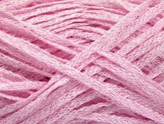 Viskóza ribbon šajn - růžová