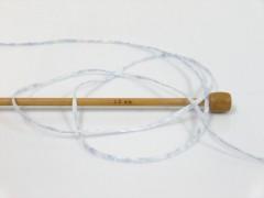 Viskóza ribbon šajn - světláfialovámelánž