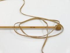 Viskóza ribbon šajn - světle hnědozlatá 1