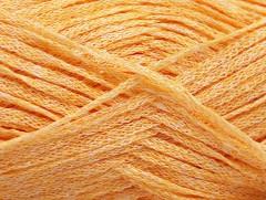 Viskóza ribbon šajn - světle oranžová