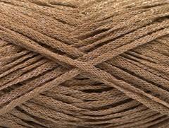 Viskóza ribbon šajn - velbloudí