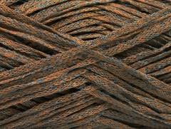Viskóza ribbon šajn - velbloudímodrá