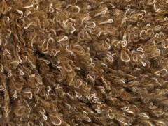 Vlna bavlna buklé - velbloudí
