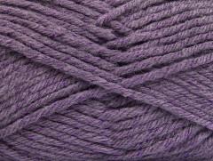 Vlna bulky glitz - fialová