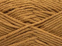 Vlna bulky glitz - světle hnědozlatá