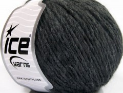 Vlna cord aran - antracitově černá