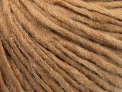 Vlna cord aran - bílá káva