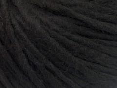 Vlna cord aran - černá 2