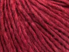 Vlna cord aran - fuchsiová melánž