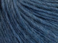 Vlna cord aran - jeansově modrá