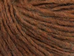 Vlna cord aran - karamelová
