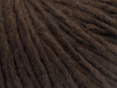 Vlna cord aran - kávově hnědá
