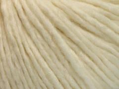 Vlna cord aran - krémová