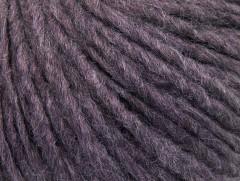 Vlna cord aran - levandulová melánž