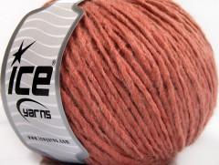 Vlna cord aran - lososová 1