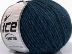Vlna cord aran - modré odstíny