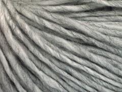 Vlna cord aran - šedá melánž 1