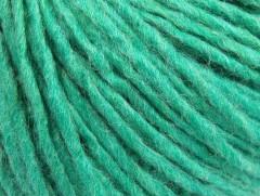 Vlna cord aran - smaragdově zelená 1