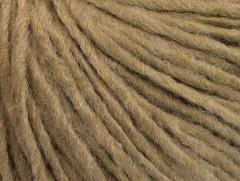 Vlna cord aran - světle hnědá