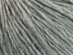 Vlna cord aran - světle šedá