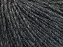 Vlna cord aran - tmavášedámelánž