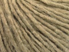 Vlna cord aran - tmavě béžová