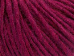 Vlna cord aran - tmavě fuchsiová 1